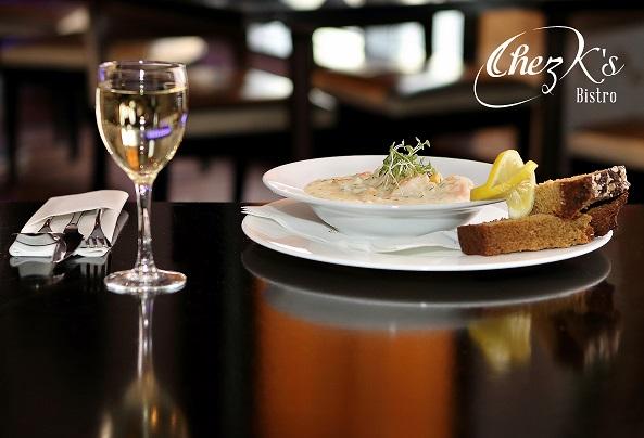 Seafood Chowder Chez K's Bistro Fitzwilton Hotel Waterford
